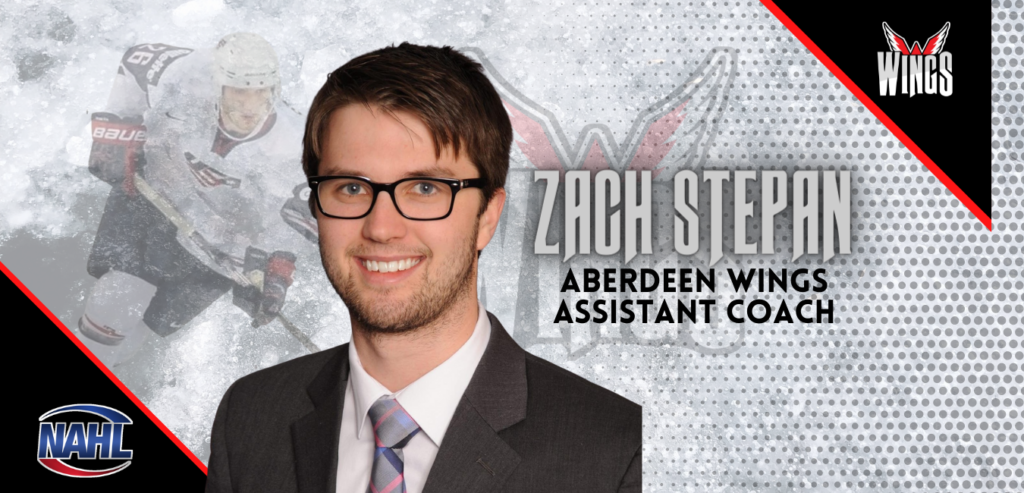 Wings name Zach Stepan as assistant coach